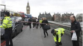 حادث إرهابي قرب البرلمان البريطاني