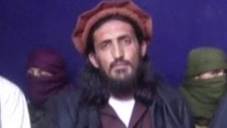 Grab from archive footage of Omar Khalid Khorasani