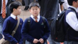 香港学生资料照片