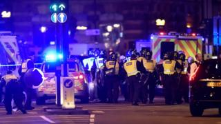 London Bridge police