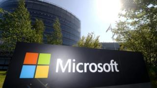 Microsoft sign