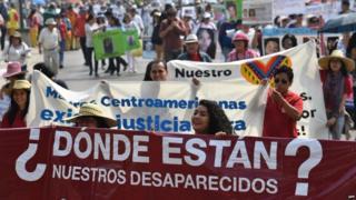 Más de 30.000 personas están desaparecidas en México.