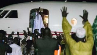 Yaxya Jammeh oo dalka Gambia ka baxay