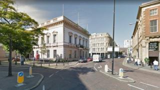 """Police received a report of an """"altercation"""" between two men in Waring St on Wednesday"""