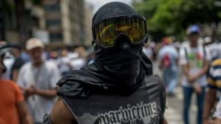 Waandamanaji Venezuela