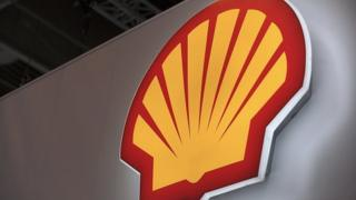 Logo of Anglo-Dutch oil giant Shell