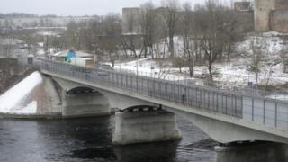 граница между Россией и Эстонией
