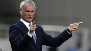 Aliyekuwa meneja wa Leicester Claudio Ranieri