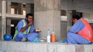 Qatar, tenaga kerja