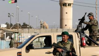 Căn cứ quân sự Bagram ở Afghanistan