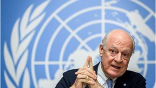 موفد الأمم المتحدة إلى سوريا ستافان دي ميستورا