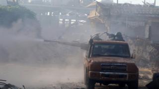 Halep'te çatışmalar