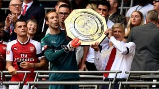 Arsenal yegukanye igikombe ca Community Shield