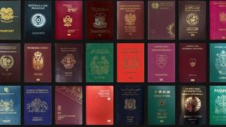 Different passport for di world