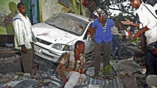 Une personne victime lors d'un attentat à la voiture piégée survenue en 2016 (archives)