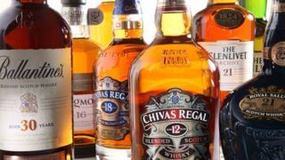 Chivas Brothers aged Scotch whisky range