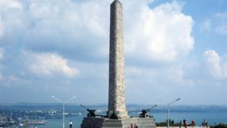 Памятник воинам Великой Отечественной войны на горе Митридат, Керчь