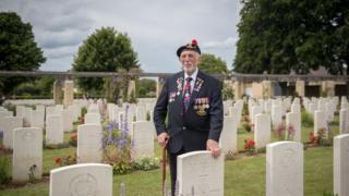 Veterano de Normandía Joe Cattini