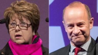 Margot Parker and Henry Bolton