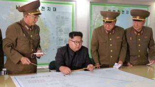 Kim Jong-un akabidhiwa mpango wa kushambulia Guam
