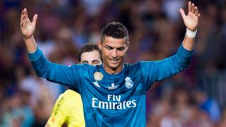 Ronaldo a été expulsé dimanche pour la dixième fois de sa carrière.