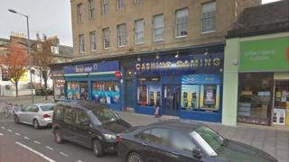 Cashino on Leith Walk