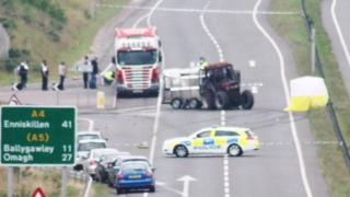 Phelim Brady died in a crash on the A4 road near Dungannon on 25 June 2014