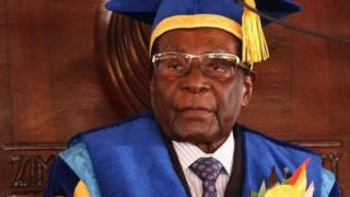 Eebba barattoota Yunvarsiitii Oppani Zimbaabwee irratti Mugaabeen argamaniiru