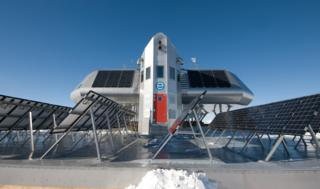 Princess Elisabeth station in Antarctica