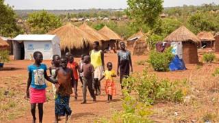 Watoto wa Sudan kusini