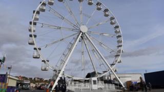 Barry Island's ferris wheel