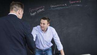 Навальный в штабе