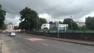 Scene of Omagh attack