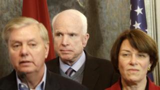 Ba thượng nghị sĩ Mỹ đang thăm vùng Baltic