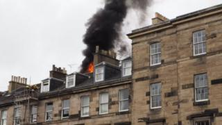 Edinburgh fire