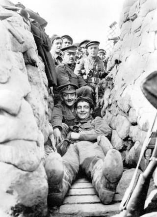 Солдаты Йорк-ланкастерского полка