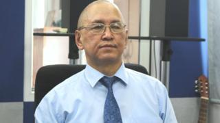 Алмазбек Токтомаметов, Кыргыз билим берүү академиясынын вице-президенти.