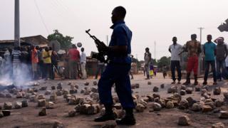 Demonstration in Bujumbura