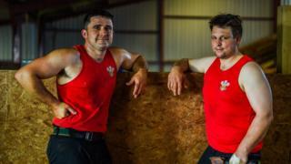 Gareth Daniel and Ian Jones