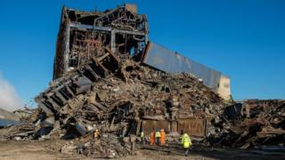 Didcot Power Station collapse
