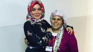 Lindsey Lohan Turkiyada