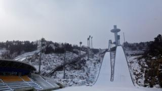 Alpensia Ski Jumping Centre in Pyeongchang