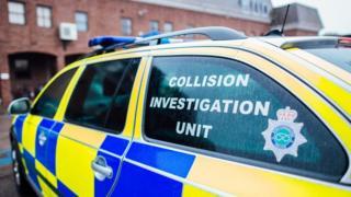 Staffordshire Police's collision investigation unit