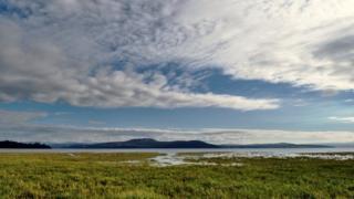 View across Morecambe Bay