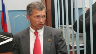 Адвокат Игорь Трунов на одном из заседаний
