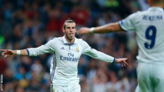 Gareth Bale wa Real Madrid