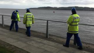 Coastguard search