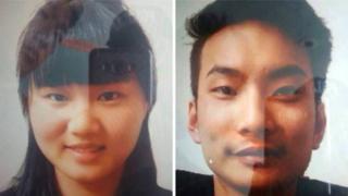 巴基斯坦警方5月公布的被綁架中國公民照片