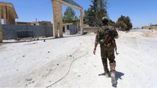 Askari maraya Manbij, 1 July 2016