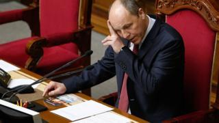 Спікер парламенту Андрій Парубій